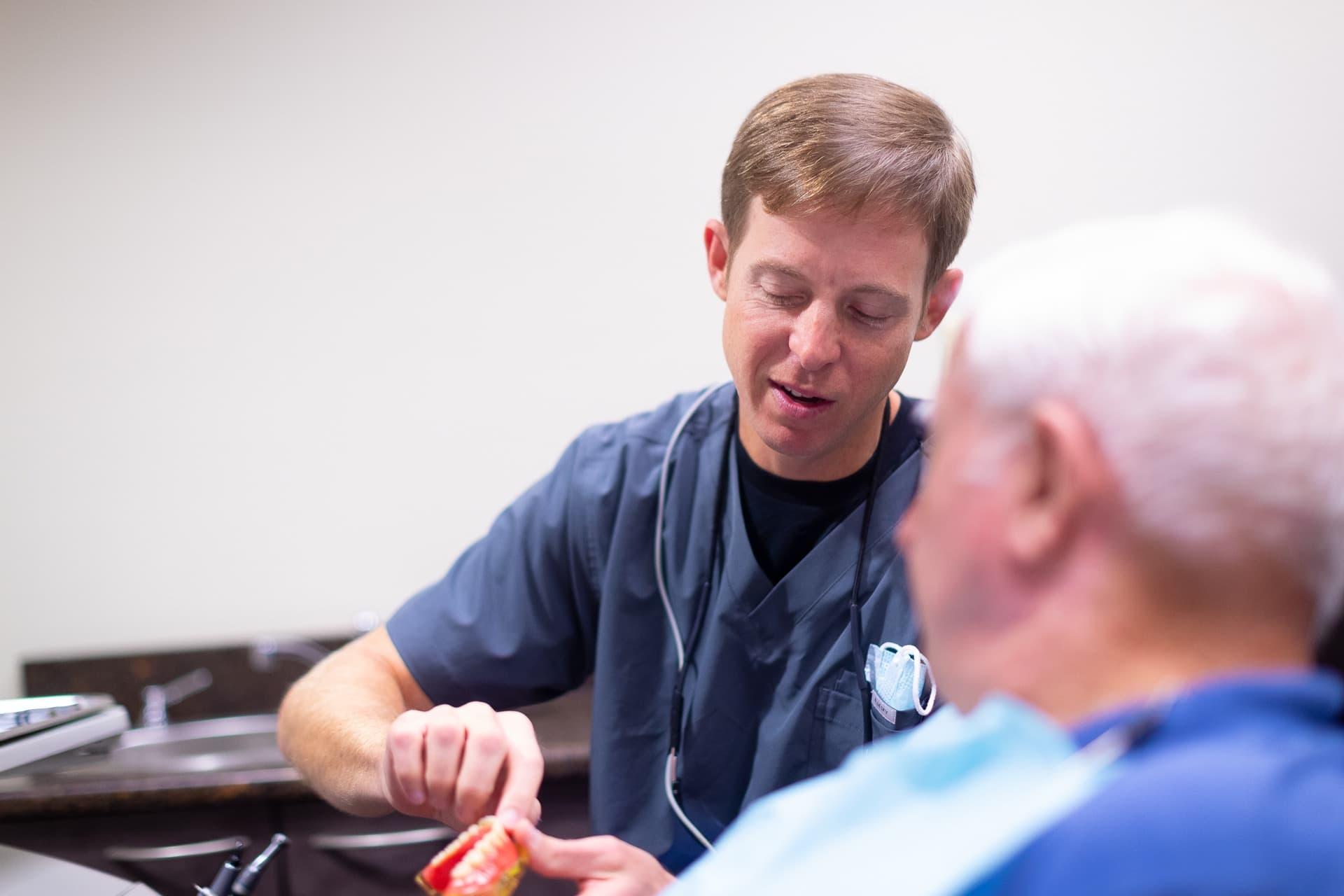 dr. fergus wisener cooper fergus dds dentist in rogers ar 2019 2 - Dentures & Partial Dentures